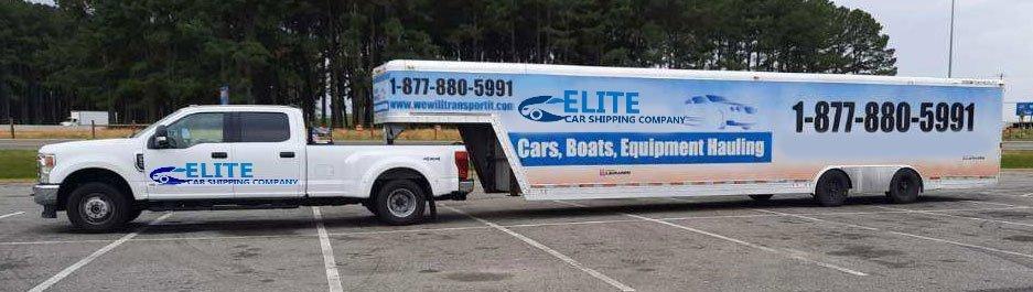 Auto Transport enclosed hauler, Enclosed Auto Transportation