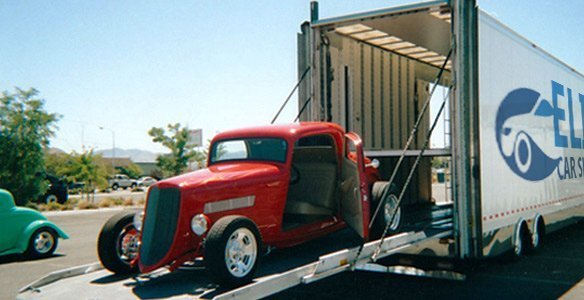 Transporting classic cars